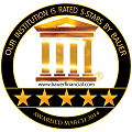 5 Stars Rating by Bauer Financial